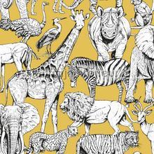 Jungle Animal Jaune tapet Noordwand Wallpaper creations