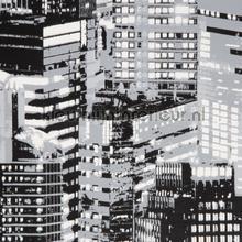 Luninocity Mono Glow in The Dark papel de parede Noordwand urbana