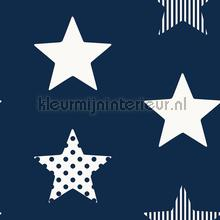 Superstar Navy papier peint Noordwand stress