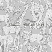 Jungle Animals Grey tapet Noordwand Wallpaper creations