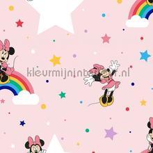 Rainbow Minnie papier peint Noordwand Wallpaper creations
