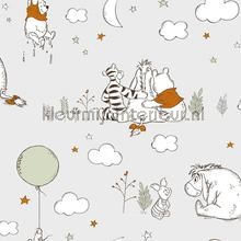 Winnie The Pooh Up Up and Away papier peint Noordwand Wallpaper creations