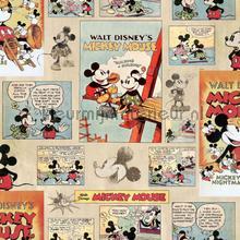 Mickey Vintage Episode papier peint Noordwand Wallpaper creations