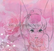 Tinkerbell Watercolour Mural fottobehaang Noordwand alle ploatjes