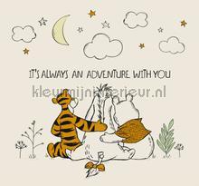 Winnie The Pooh Friends Forever Mural fotobehang Noordwand York Wallcoverings