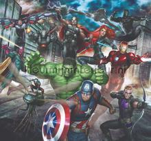 Marvel Avengers Assemble Mural behang Noordwand jongens