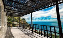 Terrace with sea view fotomurais Kleurmijninterieur Todas-as-imagens