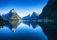 Lake mountains fototapet Kleurmijninterieur verdenskort