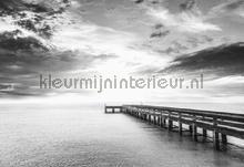 At the end of the pier fotomurais Kleurmijninterieur Todas-as-imagens