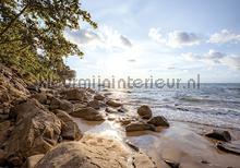 Rocky beach fotomurais Kleurmijninterieur Todas-as-imagens