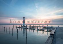Lighthouse in pastel colors fotomurais Kleurmijninterieur Todas-as-imagens