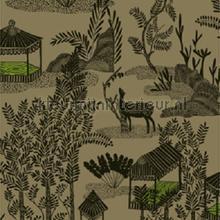 Siam Libre en son jardin papier peint Elitis spécial