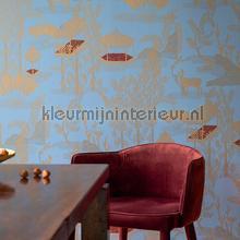 Siam Miroir de lame papier peint Elitis spécial