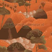 Reves de manille Les cabanes maliciennes papier peint Elitis spécial