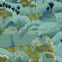 Reves de manille A flanc de colline papier peint Elitis spécial