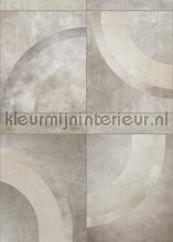 Kwart cirkel vlakken fotomurali Behang Expresse PiP studio wallpaper