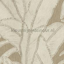 Botanic linen tapeten Arte uni farben