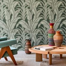 Botanic pine papel pintado Arte Vendimia Viejo