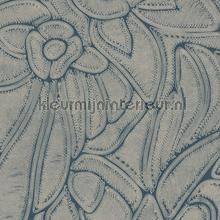 Flore harbour papel pintado Arte Vendimia Viejo