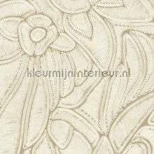 Flore bone papel pintado Arte Vendimia Viejo