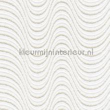 Overschilderbaar behang golflijnen papel de parede AS Creation veloute