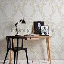 Overschilderbaar kwarts behang ornament papel de parede AS Creation veloute