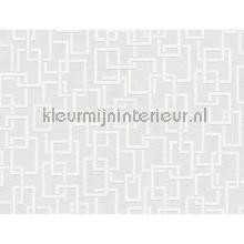 Overschilderbaar behang bloklijnen papel de parede AS Creation veloute