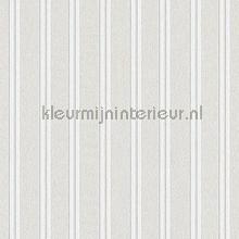 Overschilderbaar behang relief strakke lijnen papel de parede AS Creation veloute