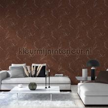 Glanzend gepolijst marmer wallcovering AS Creation Vintage- Old wallpaper