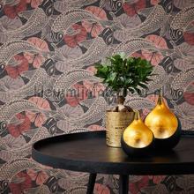 Geinspireerd door Escher vissen papel de parede AS Creation Vendimia Velhos