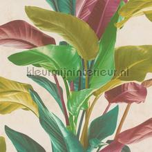 Botanische blad variatie behang AS Creation Exotisch