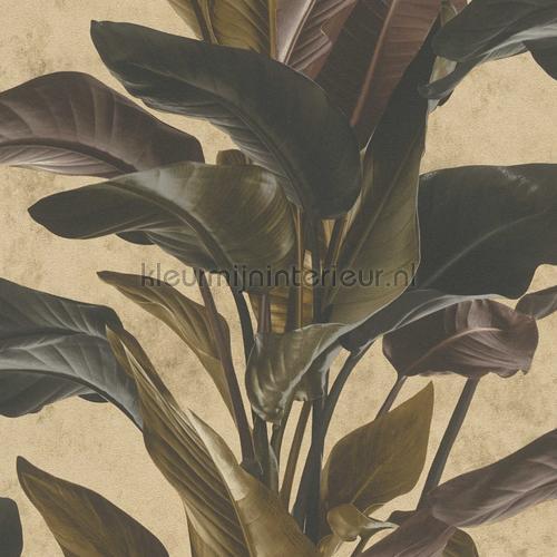 Botanische blad variatie behang 37862-4 bladmotief AS Creation