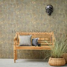 Rustiek chic cirkel relief papel de parede AS Creation Vendimia Velhos