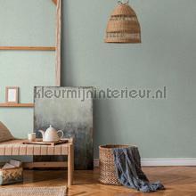 Fijne linnenstructuur behang AS Creation uni kleuren