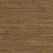 Grasweefsel zijdeglans okerbruin tapet Eijffinger Natural Wallcoverings 322618