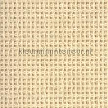 Grof raster weefsel creme tapet Eijffinger Natural Wallcoverings 322625