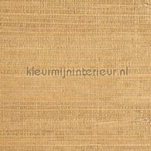 Grasweefsel zijdeglans warm geel tapet Eijffinger Natural Wallcoverings 322627