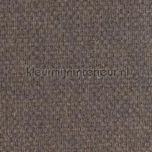 Bolkjesweefsel bruingrijs zijdeglans tapet Eijffinger Natural Wallcoverings 322645