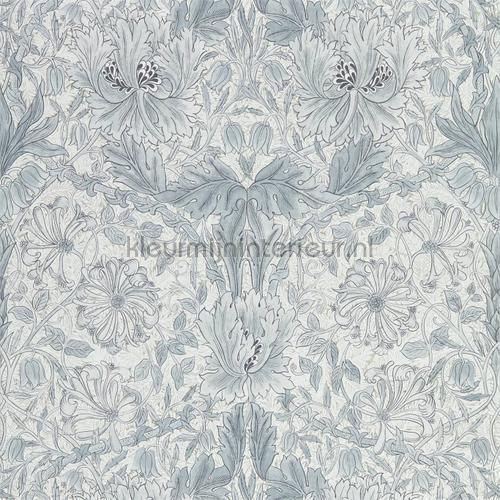 Pure honeysuckle and tulip tapet 216524 North Wallpapers Morris and Co