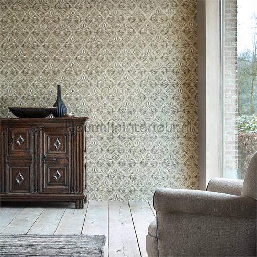 Pure trellis tapet 216529 North Wallpapers Morris and Co