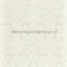 Pure brer rabbit white clover behang Morris and Co klassiek