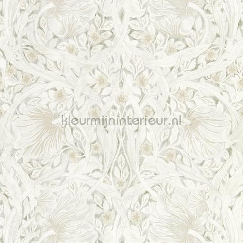 Pure pimpernel lightish grey tapet 216538 North Wallpapers Morris and Co