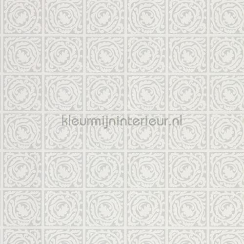 Pure scroll Lightish grey tapet 216544 North Wallpapers Morris and Co
