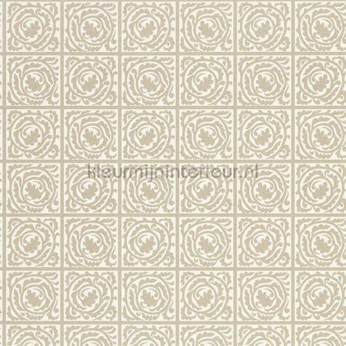 Pure scroll gilver tapet 216546 North Wallpapers Morris and Co