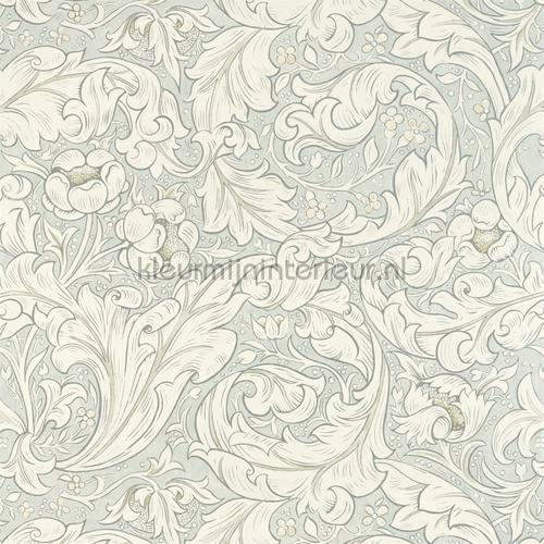 Pure bachelors button grey blue tapet 216554 North Wallpapers Morris and Co