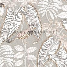 Sibia wallcovering Casamance Vintage- Old wallpaper