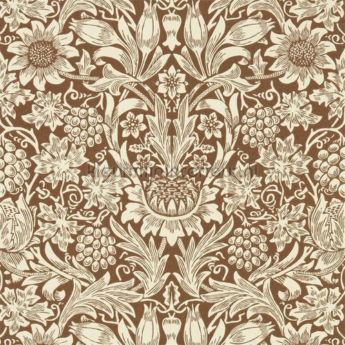 Sunflower tapet 216961 romantisk moderne Morris and Co
