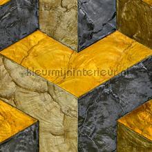 Helix Inca gold behang Arte exclusief