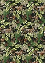 Jaguars verstopt tussen de bladeren fotobehang Behang Expresse Bloemen Planten