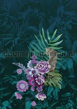 Jungle stilleven met diepte papier murales Behang Expresse PiP studio wallpaper